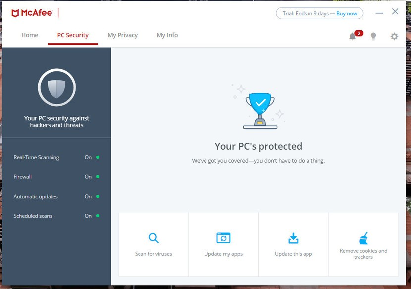 McAfee Antivirus Plus o Total Protection
