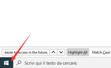 pannello di controllo su Windows 10
