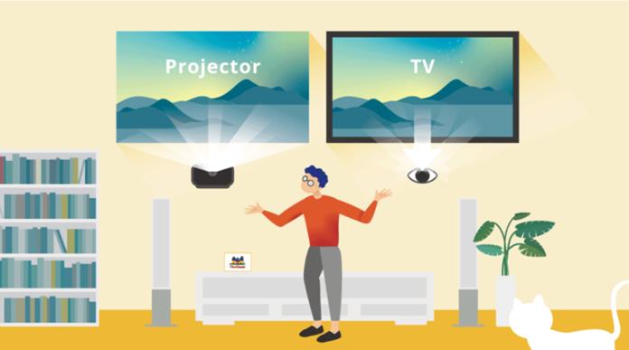 Proiettore vs. TV