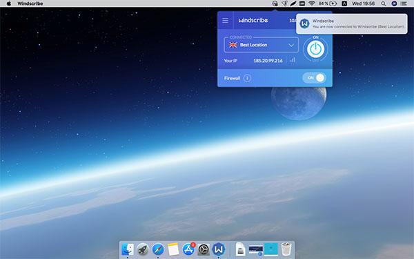 Windscribe per Mac