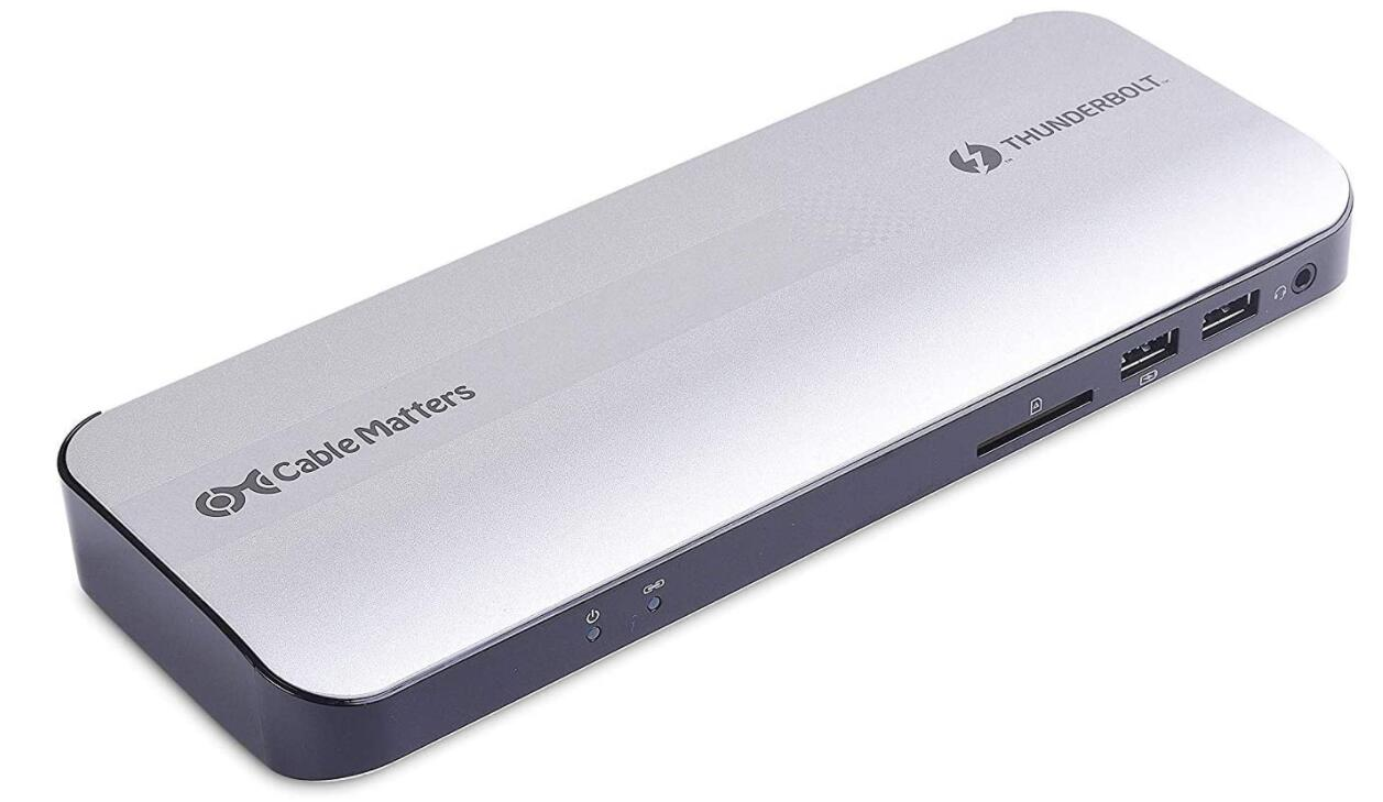 Cable Matters Thunderbolt 3 dock