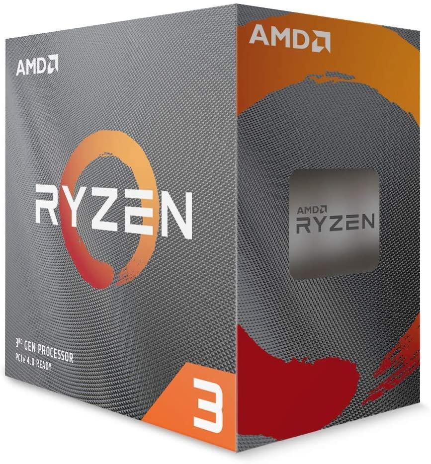 AMD Ryzen 3 3300X 4-Core