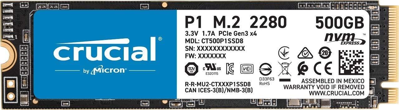Crucial P1 da 500GB