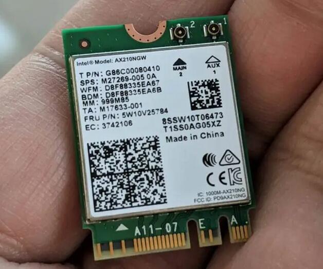 l'Intel AX210NGW