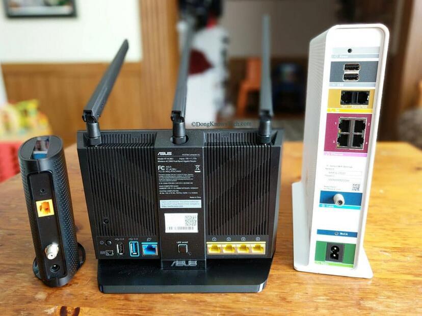 Una rete domestica Wi-Fi