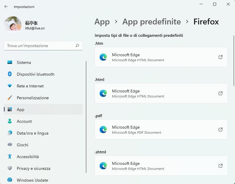 Cambiare il Browser Predefinito
