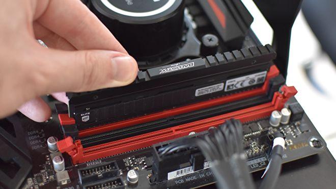 Installare RAM